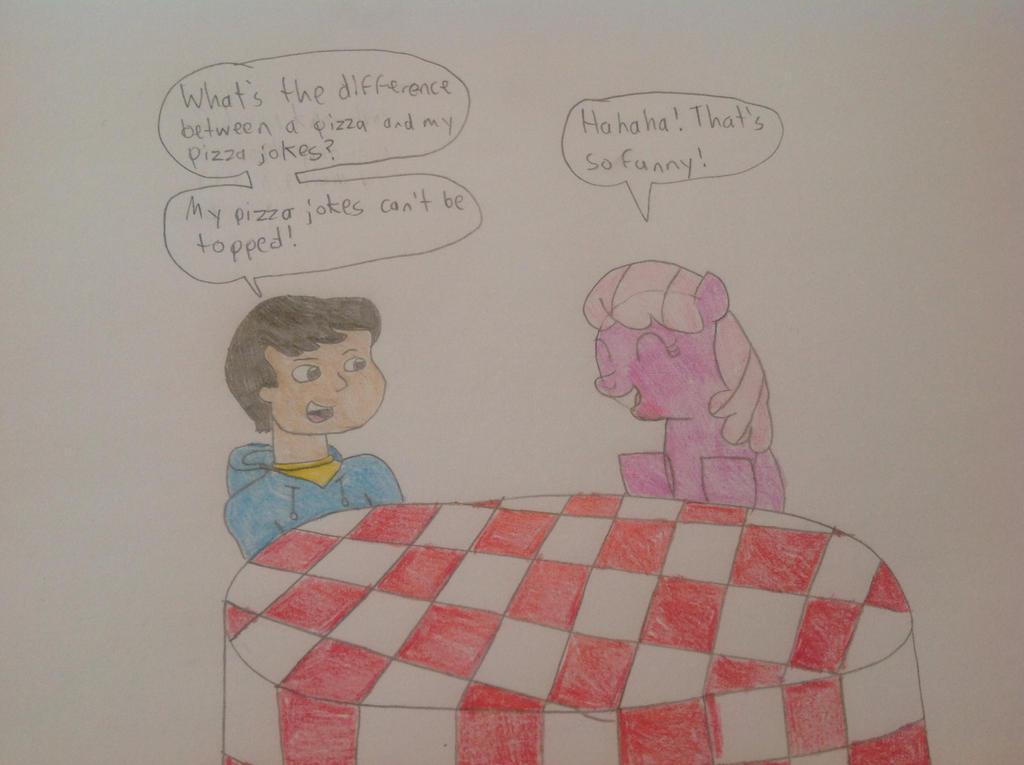 Carlos and Cheerilee have a Conversation by hmcvirgo92