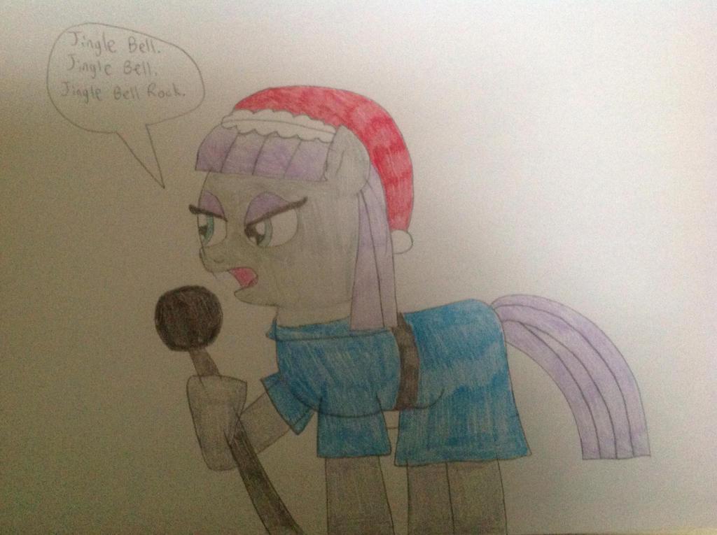 Maud Pie Tries to Sing Jingle Bell Rock by hmcvirgo92