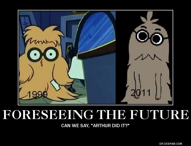 Arthur and Professor Brown by hmcvirgo92