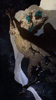 Flight with the Cygnus constellation