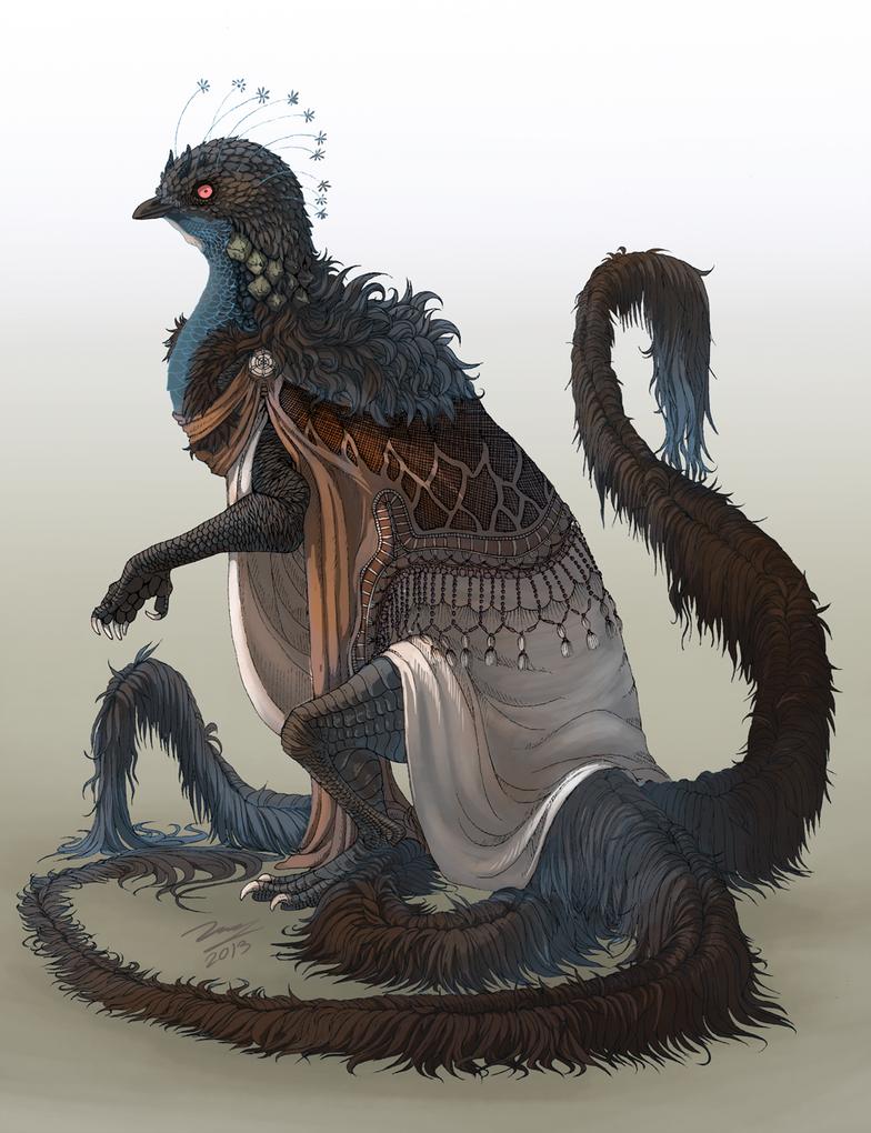 Textured beast by RadonKalmor