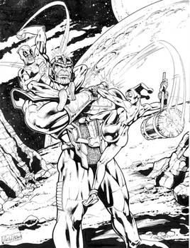 Harley Quinn - Deadpool and Thanos