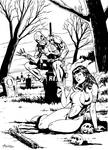 Vampirella and deadpool