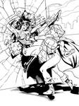 Wonder Woman.Power Girl