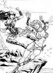 Red Sonja x Xena