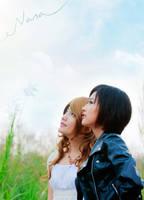 Nana - Looking to our blue sky by meipikachu
