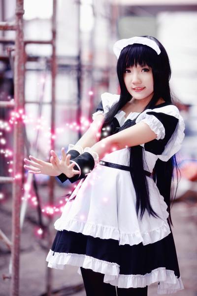 Mio Akiyama - Love Beam by nyaomeimei