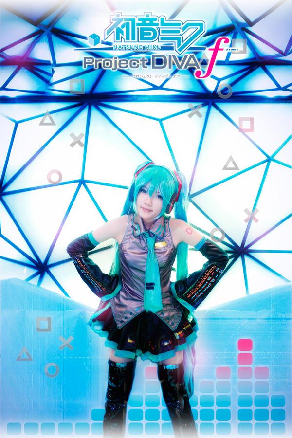 Hatsune Miku - Project Diva f by nyaomeimei