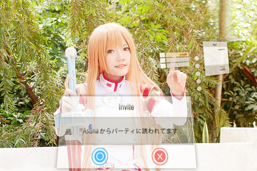 Sword Art Online - Party with Asuna? by nyaomeimei