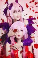 Guilty Crown - Inori and Mana by meipikachu