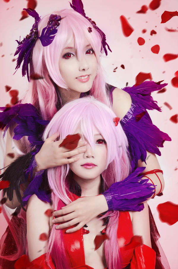 Guilty Crown - Inori and Mana by nyaomeimei