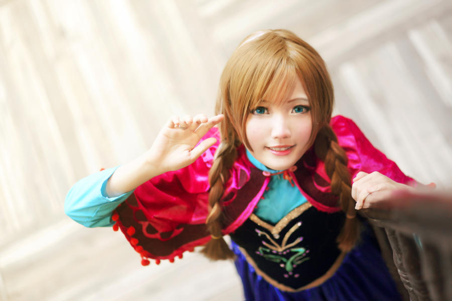 Good morning Princess Anna by nyaomeimei