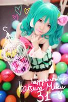 Happy birthday Hatsune Miku! by meipikachu