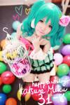 Happy birthday Hatsune Miku!