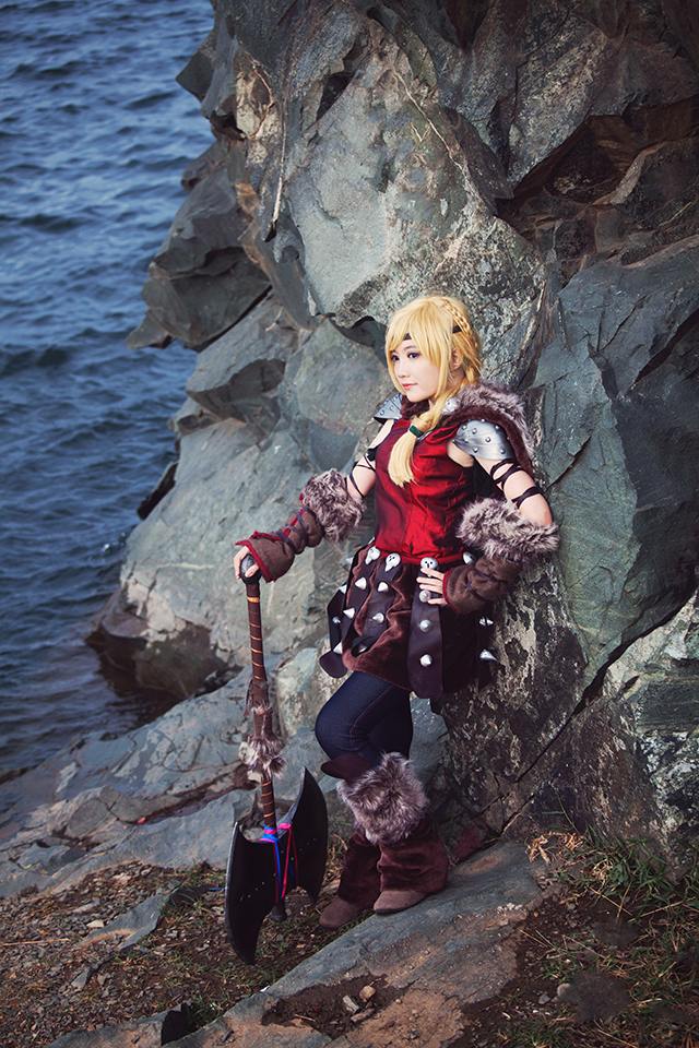 Astrid Hofferson - The Viking Girl by nyaomeimei