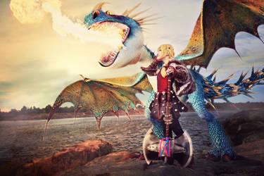 Astrid - The Dragon Rider