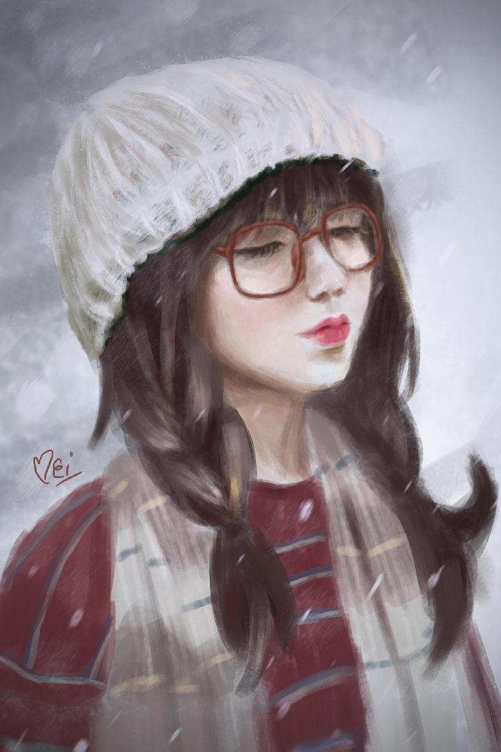 Portrait Study by meipikachu