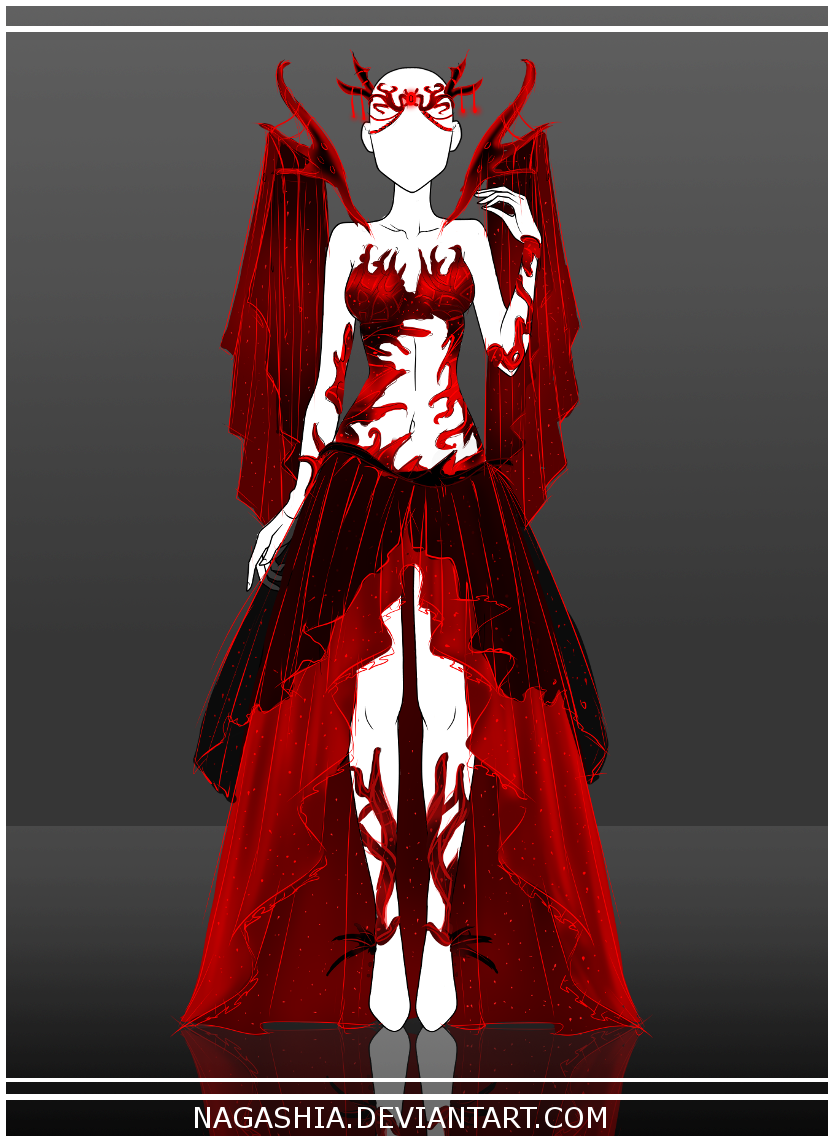 Adoptable Auction: The Bloody Spider's Web CLOSED by Nagashia