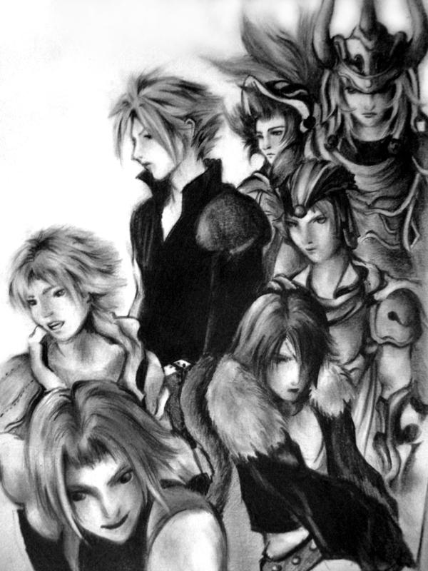 DISSIDIA by firewyvern91