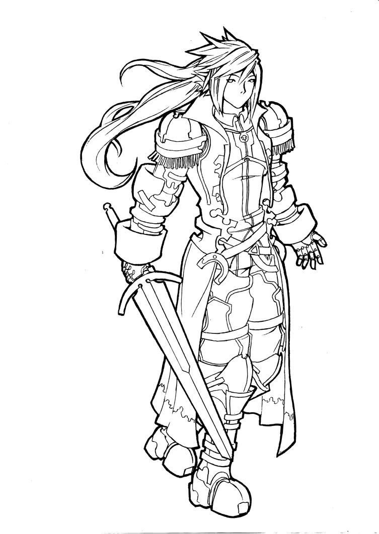 ff coloring pages - photo#36