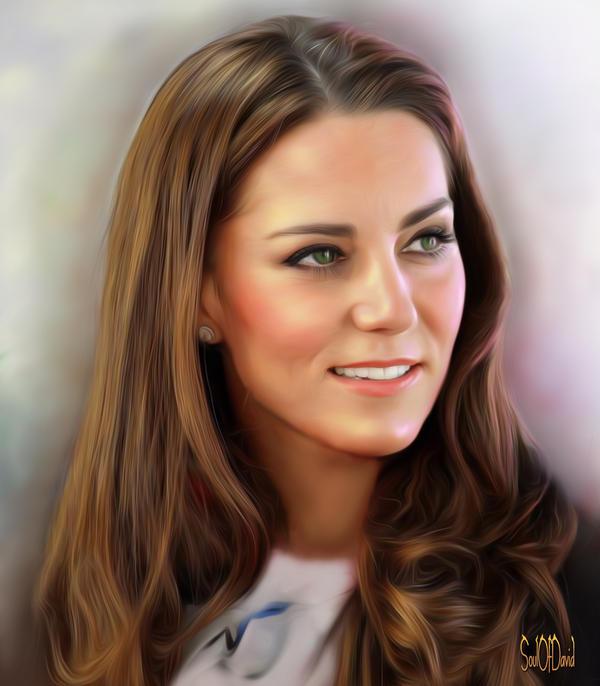 Kate Middleton by SoulOfDavid