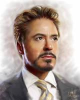 Robert Downey Jr. by SoulOfDavid