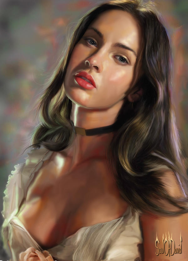 Megan Fox by SoulOfDavid