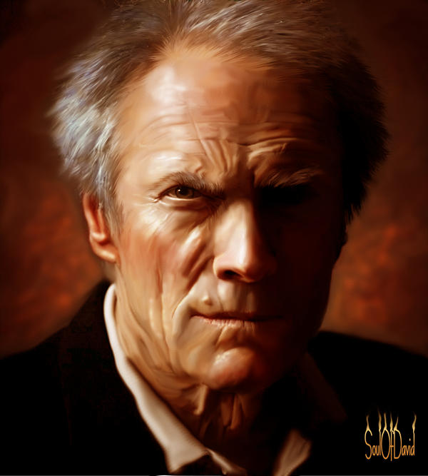 Clint Eastwood by SoulOfDavid