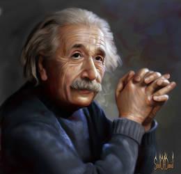 Albert Einstein by SoulOfDavid