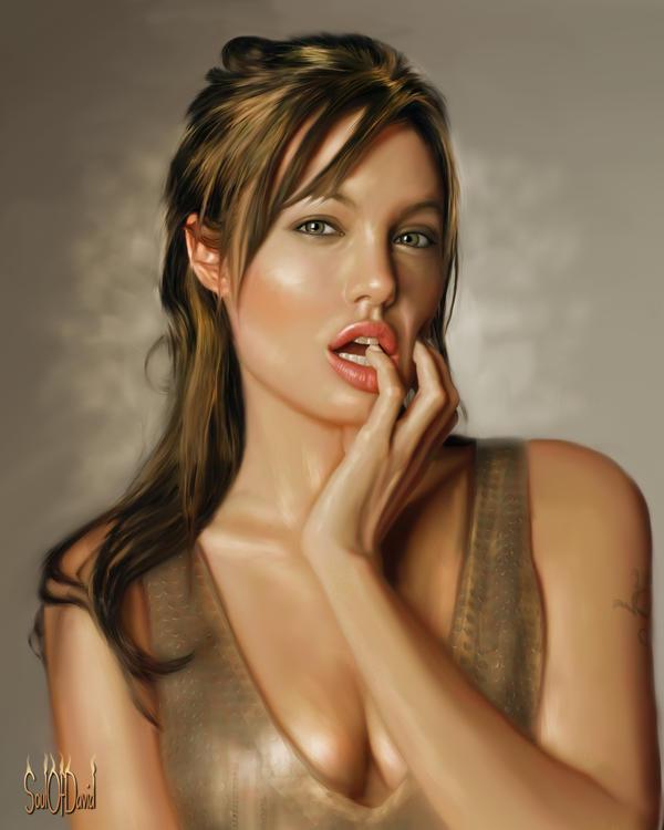 Angelina Jolie by SoulOfDavid