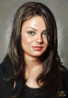 Mila Kunis by SoulOfDavid