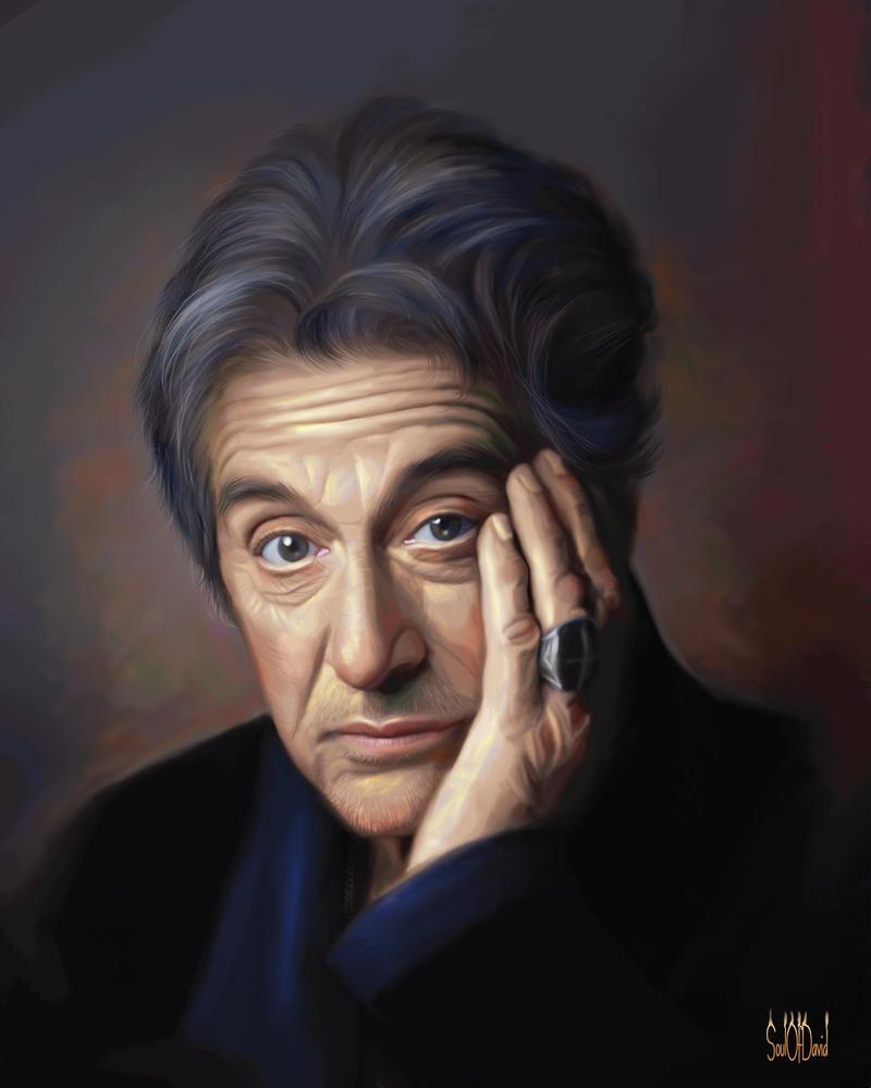 Al Pacino by SoulOfDavid
