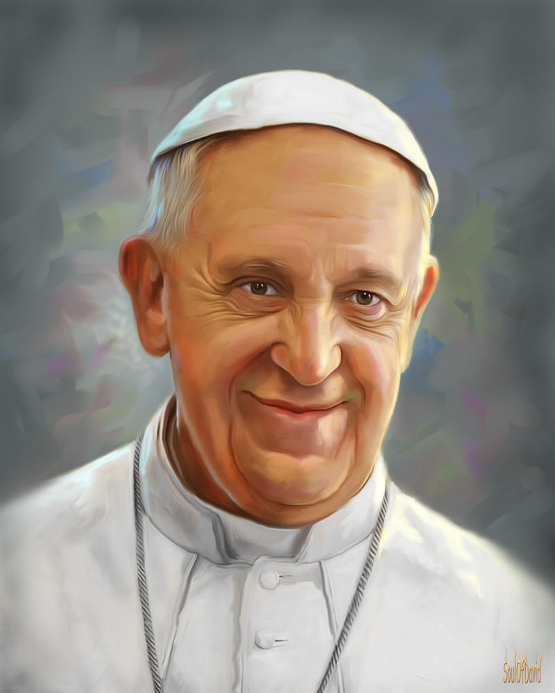 Pope Francis by SoulOfDavid