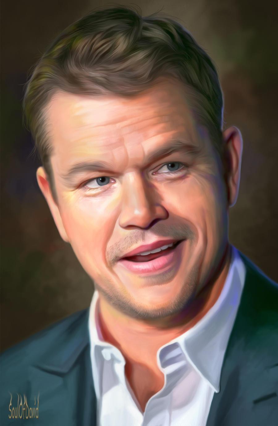Matt Damon by SoulOfDavid