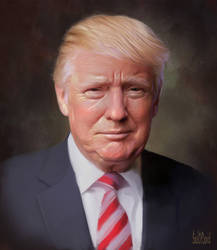 Donald Trump by SoulOfDavid