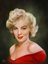 Marilyn Monroe by SoulOfDavid