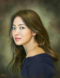 Song Hye Kyo by SoulOfDavid