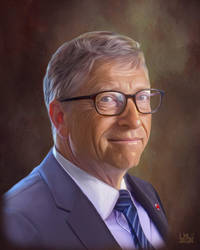 Bill Gates by SoulOfDavid