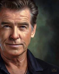 Pierce Brosnan by SoulOfDavid