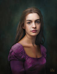 Anne Hathaway by SoulOfDavid