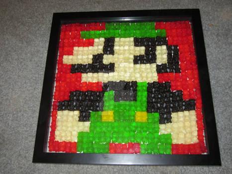 Gummy Bear Mario Trio: Luigi