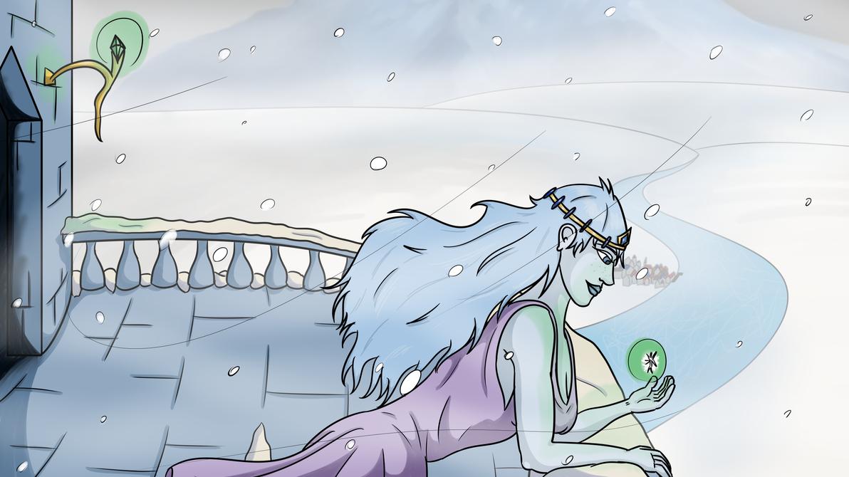 Snow Princess by jfDoyon