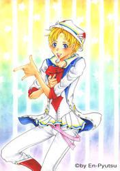 Sailor Male - Usagi-Kun by cl0ck-hEart