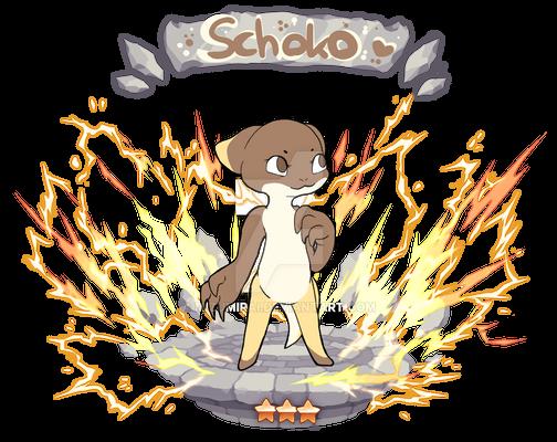 [Drakapon] Schoko || Stage 1