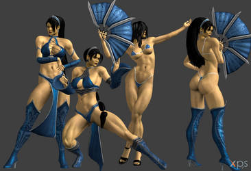 *Commission* Kitana FULL by Marcelievsky