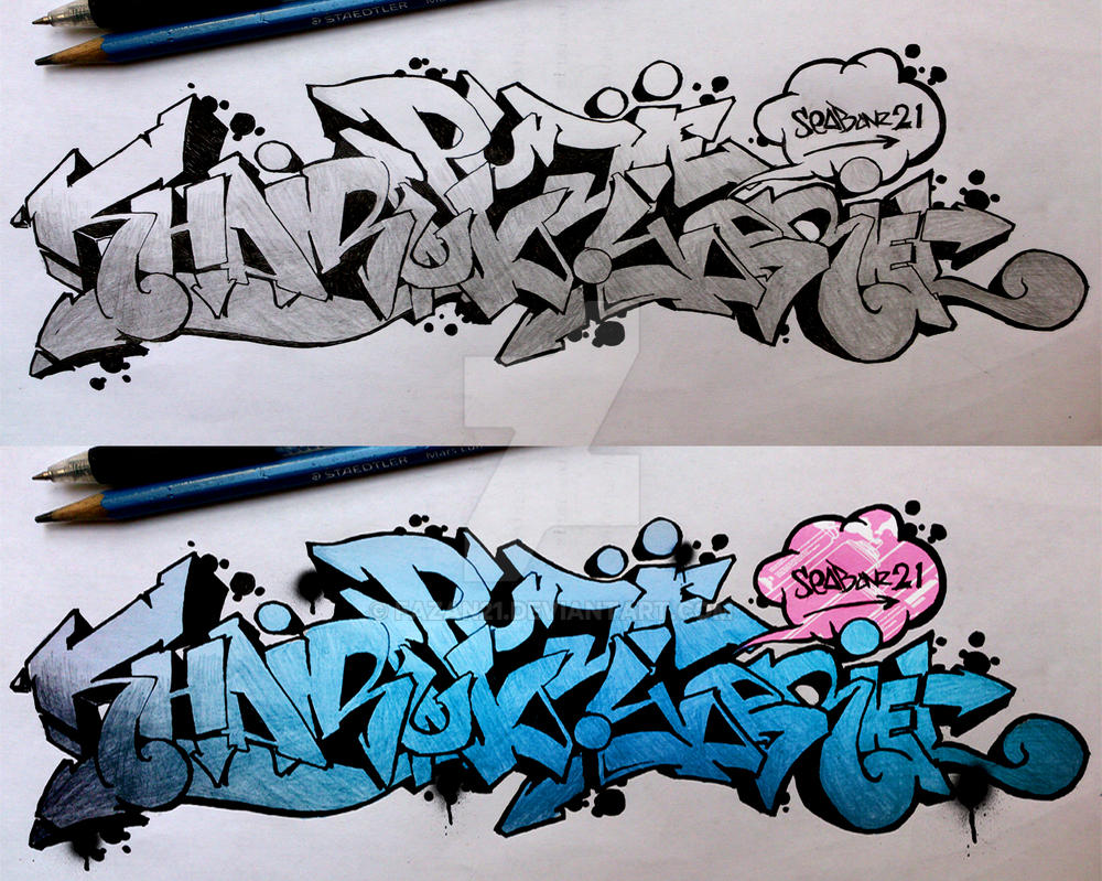 Graffiti special for mobbles indonesia admin by fazan21