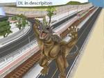 MMD Godzilla Newcomer - Varan +DL+