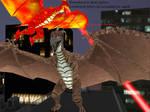 MMD Godzilla Newcomer - Rodan 2.0 +DL+