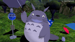 MMD Newcomer - Totoro +DL+ UPDATED