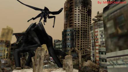 MMD Godzilla - Male and Female Muto DL MOVED by MMDCharizard